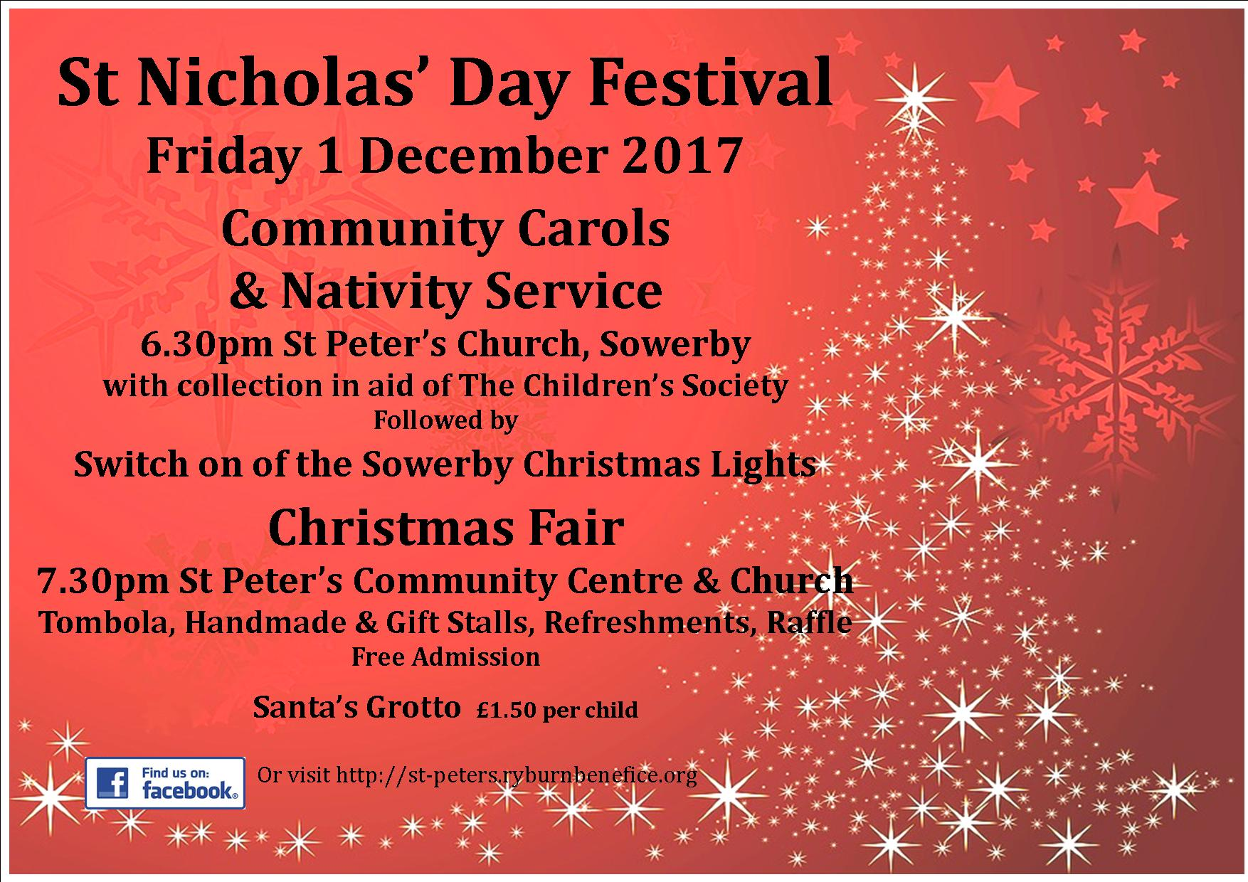 St Nicholas Day poster 2017