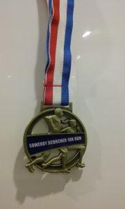 Scorcher medal 2017