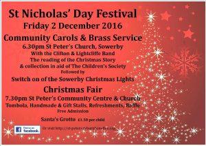 St Nicholas Day 2016