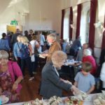 The fellowship contnued across the road at the Community Centre with a lovely afternoon tea