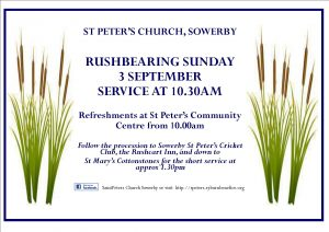 Rushbearing, Sowerby, St Peter's Church