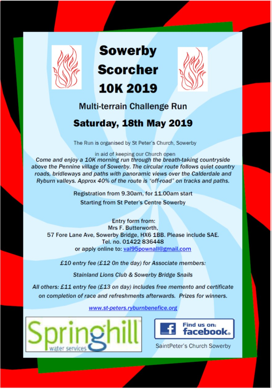 Sowerby Scorcher poster 2019