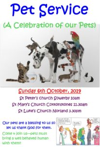 Pet Services poster 2019