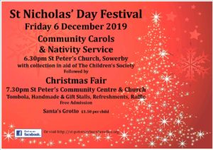 St Nicholas Day poster 2019